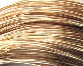 14k gold filled round soft wire 26g (5 FEET) MSIA TEAM