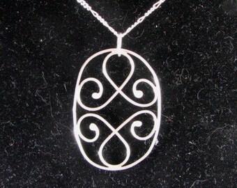 Sale..... Sterling silver soldered pendant... Custom designer jewelry Australian Designer MSIA team jewellery