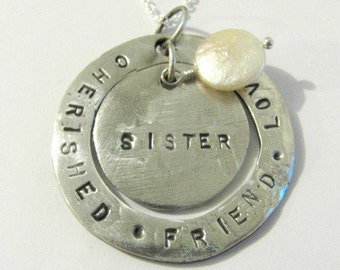 PMC .999 fine silver custom made to order necklace