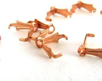 Genuine solid copper pinch bail (20) MSIA TEAM