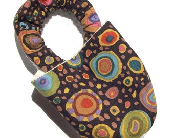 Roman Glass Soft Soled Baby Shoes NB