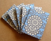 Matchbook Notebooks- Amy Butler- Lotus Wall Flower- Sky- 5