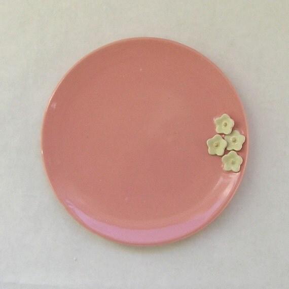Cherry Blossom Dessert Plate