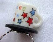 SALE Star Mini Mug ring