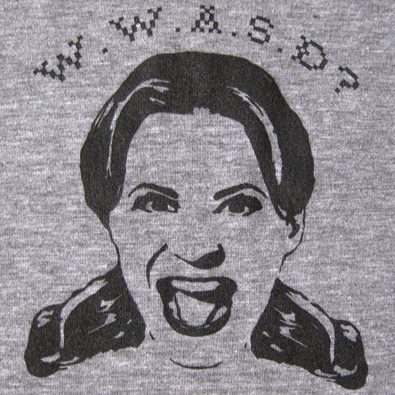 What Would Amy Sedaris Do t-shirt - Athletic Gray - UNISEX SMALL