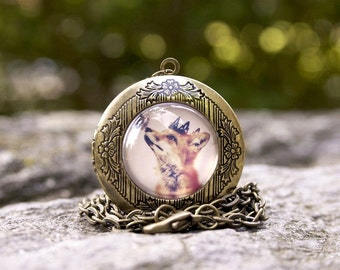 The Little Fox Prince Locket, RESERVED