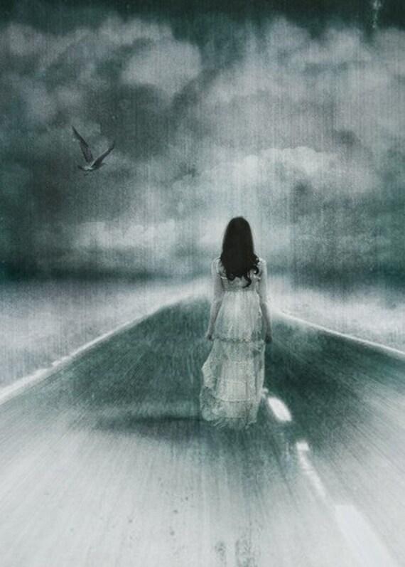 Spirit Walk: Haunting, Halloween Art Print