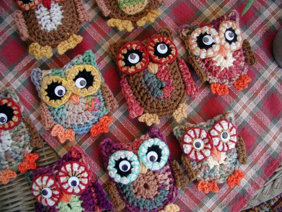 DOWNLOADABLE PDF PATTERN - Hootie Crochet Pattern