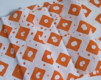1/4 yard diamond dots hand dyed fabric