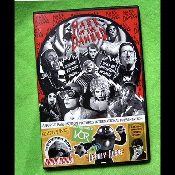 MARK OF THE DAMNED DVD