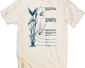 Botanical  Tee Illustration of Barley Tshirt Beer stuffs Tshirt