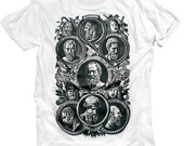 Philosophy Tee History Shirt Geek Vintage Cool Graphic T-shirt