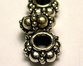 Decorative Thai Silver Spacers Beads by the gram
