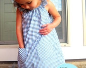 Instant Download The Playday Frock Dress PDF Sewing Pattern DIY Tutorial Little Bird Lane Size 1/2 to Size 5/ 6