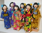 Kimonos for Little MO & Hitty Dolls - pattern #102
