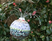 Custom Mosaic Garden Ball - free shipping