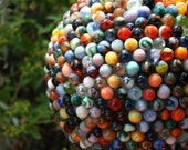 Reclaimed Marble Garden Ball