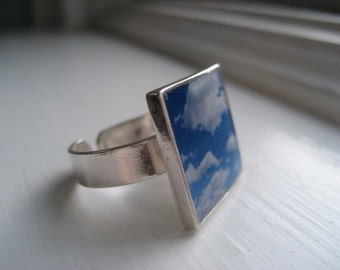 Sterling Silver Custom Photo Ring...Close to My Heart Series