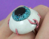 Eyeball Ring with veins and warts