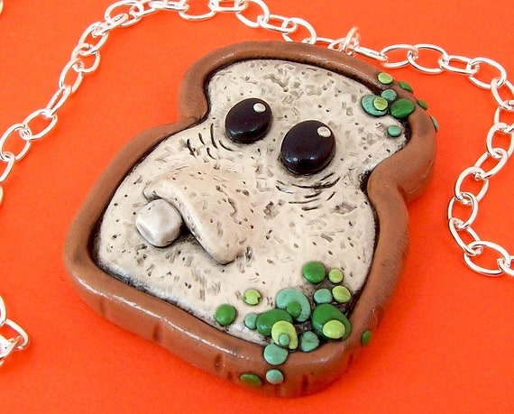 Moldy Bread Necklace