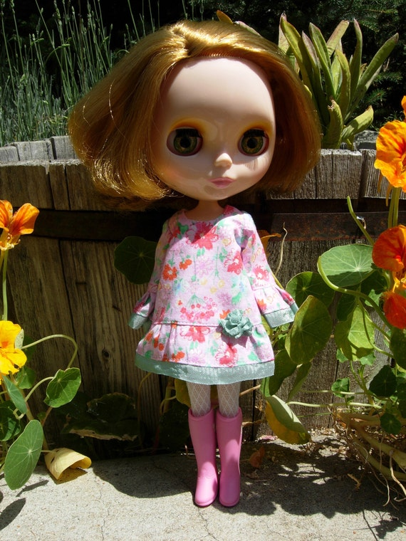 Pink Floral Bohemian Blythe Dress