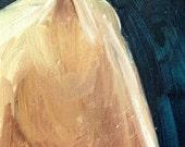 "Miniature horse portrait on Wood- ""Inner Bond"""