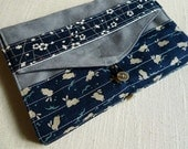Bookcover nr 440 (grey and blue)