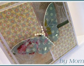 Beautiful Butterfly Greeting Card by Mom
