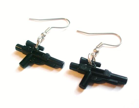 LEGO Star Wars Blaster Dangle Earrings