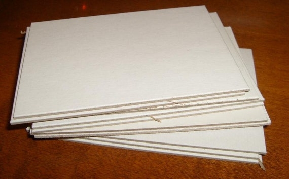 Package of 10 cardboards for miniature paintings, drawings and aceo