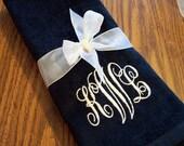 Monogram Hand Towels - set of 2 - CUSTOM