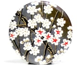 Buy 4 Get The 4th Free - Wishing Stone Pocket Mirror - Japanese chiyogami mirror and gift bag