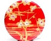 Buy 3 Get The 4th Free - Sedona Pocket Mirror - Japanese chiyogami mirror and gift bag