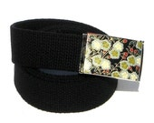 Obi Belt Buckle - cottony clusters (Buckle Only) Vegan Friendly Belts
