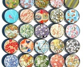 assortment of 10 Japanese chiyogami party favor gift tins