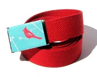 Obi Belt Buckle - cardinal rule (Buckle Only) Vegan Friendly Belts