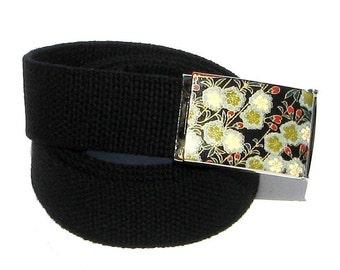 Obi Belt Buckle - cottony clusters (Buckle Only) Vegan Friendly Belts