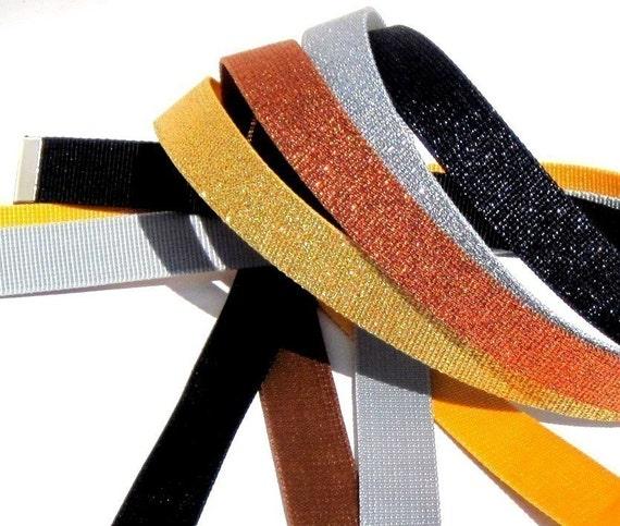Obi Belts - Shimmery Reversible Belts - choose any color to go with Obi Buckles - Vegan Friendly