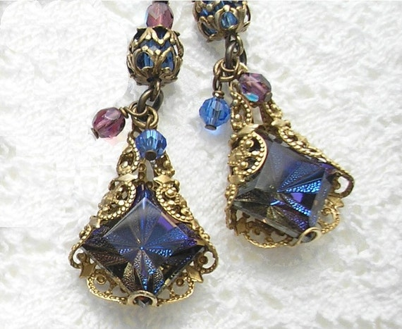 DreamScape Heliotrope Earrings