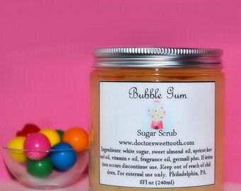 Bubble Gum Sugar Scrub (Paraben Free)