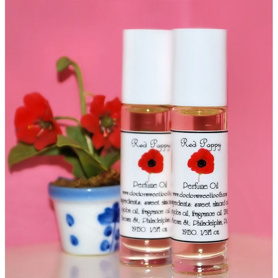 Red Poppy Perfume Oil Roll-On