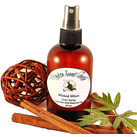 Wicked Witch Scented Room Linen Spray Made WIth Essential Oil (Vegan Friendly)