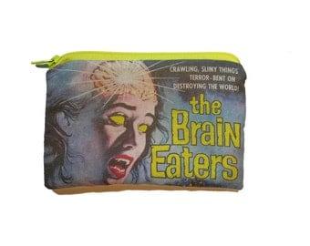 The Brain Eaters - Horror Movie - Zipper Pouch