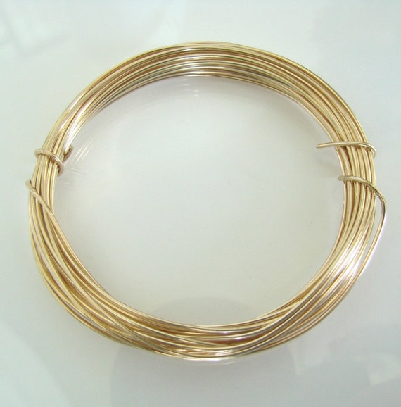 26g dead soft 10 feet of 14k gold filled wire for jewelry