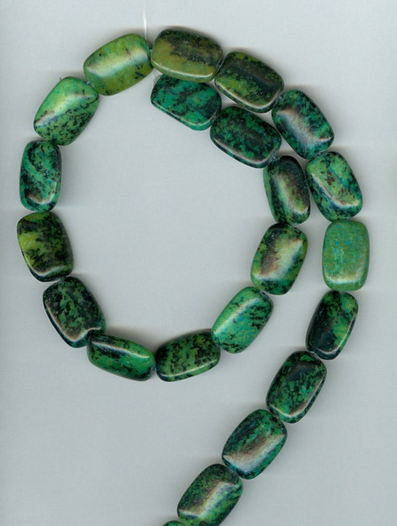 CLEARANCE - Green Yellow Turquoise Beads - 40% OFF