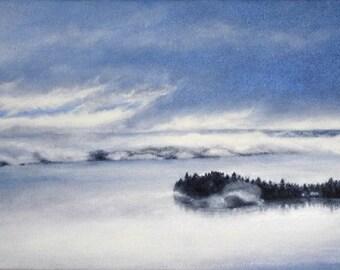 Art Print - November Mist
