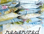 RESERVED for kblack02... Eco friendly dryer sachets... Set of 3, Surprise fabric selection