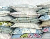 Lavender laundry dryer sachets... eco friendly and reusable, set of 3, surprise fabric selection