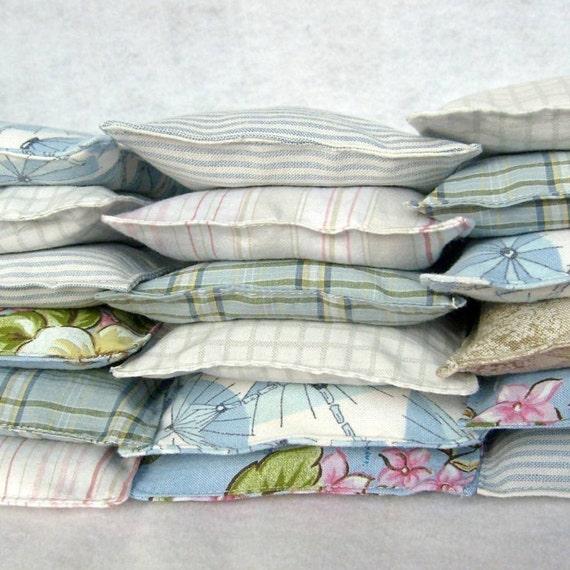 Selection Of An Alternative: Laundry Dryer Sheet Alternative Lavender Sachets... By
