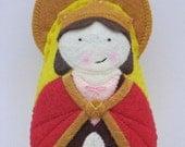Saint Adelaide Felt Saint Softie